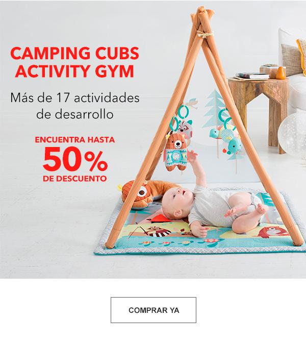 Camping Cubs Activity GYM. Encuentra hasta 50% de Descuento