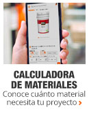 Calculadora de materiales