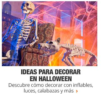 Ideas para decorar en Halloween - Descubre cómo decorar con inflables, luces, calabazas y más