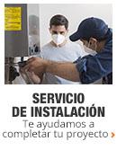 Servicios de instalación